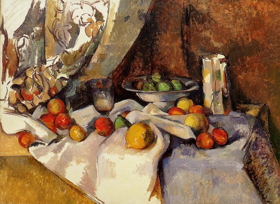 cezanne-still-life-post-bottle-cup-and-fruit